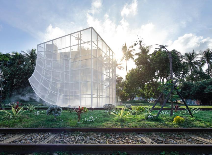 國際媒體報導「DESIGNBOOM 」 專文報導 #NOOK 光合台東 藝術裝置