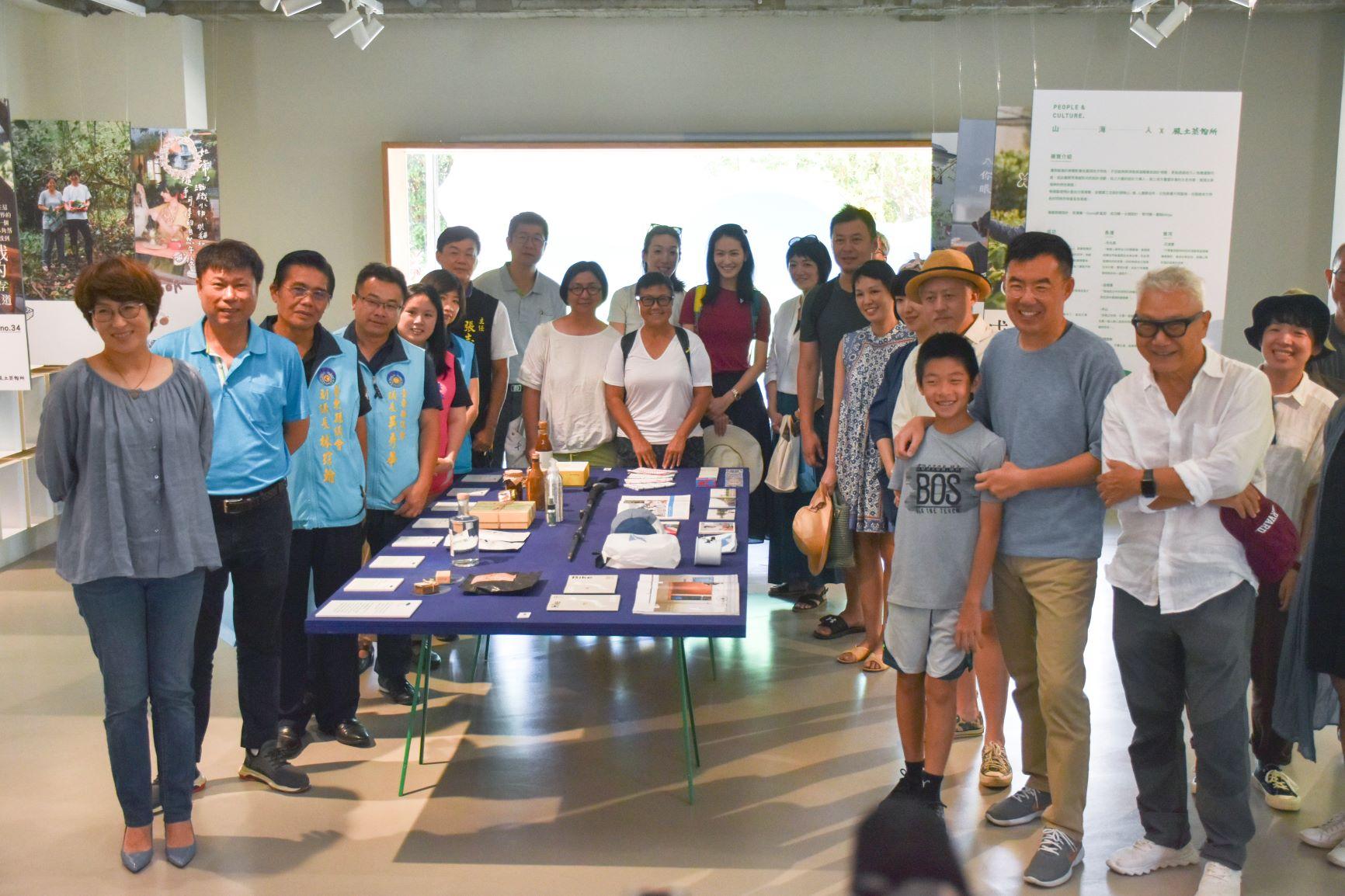 山-海-人People & Culture X 風土蒸餾所聯展開幕-星星與漂流木的海岸